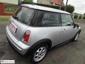 Mini Cooper 2005 1.4 75 KM