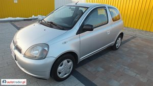 Toyota Yaris 1.0 1999 r.,   8 900 PLN