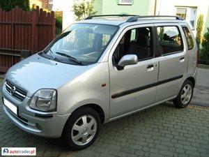 Opel Agila 1.0 2004 r. - zobacz ofertę