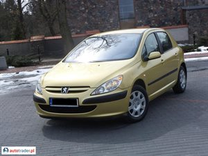 Peugeot 307 1.6 2003 r. - zobacz ofertę
