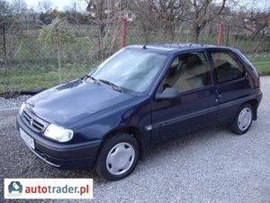 Citroën Saxo 1.1 1998 r. - zobacz ofertę