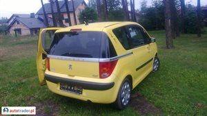 Peugeot 1007 1.4 2006 r. - zobacz ofertę