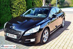 Peugeot 508 1.6 2012 r.,   49 900 PLN