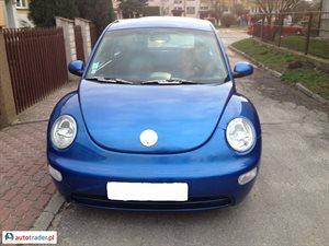 Volkswagen New Beetle 1.6 2001 r. - zobacz ofertę