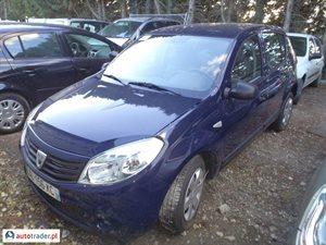 Dacia Sandero 1.5 2010 r. - zobacz ofertę