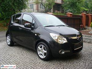Opel Agila 1.2 2010 r. - zobacz ofertę