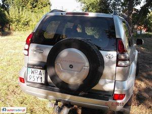 Toyota Land Cruiser 2006 3.0 166 KM