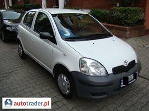 Toyota Yaris 1.0 2004 r. - zobacz ofertę