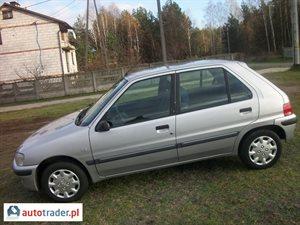 Peugeot 106 1999 r. - zobacz ofertę
