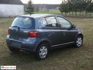 Toyota Yaris 1.3 2004 r. - zobacz ofertę