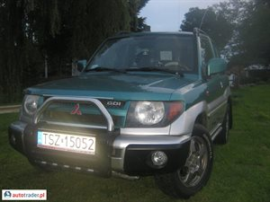 Mitsubishi Pajero 1.8 1999 r. - zobacz ofertę