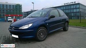 Peugeot 206 1.4 2001 r. - zobacz ofertę