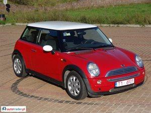 Mini Cooper 2002 1.6 116 KM