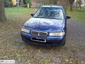 Rover 420 2.0 1996 r. - zobacz ofertę