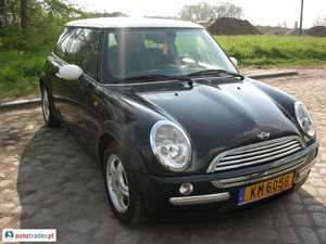 Mini Cooper 2004 1.6 115 KM