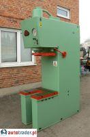 Prasa hydrauliczna wysięgowa PHW 40 Ton 600x650 mm - zobacz ofertę