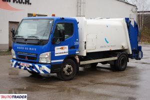 Mitsubishi FUSO dwuosiowa śmieciarka miejska 6m3 4x2 - zobacz ofertę