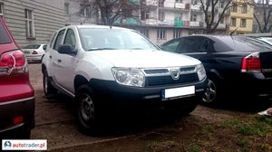Dacia Duster, 2012r.,   27 500 PLN