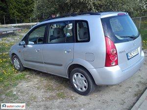 Mazda Premacy 2.0 2002 r. - zobacz ofertę