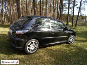 Peugeot 206 1.6 2001 r. - zobacz ofertę