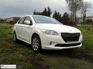 Peugeot 301 1.2 2013 r. - zobacz ofertę