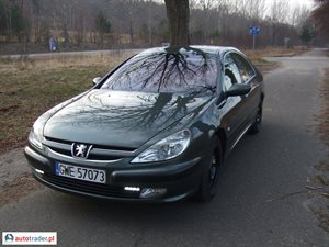 Peugeot 607 2.0 2004 r.,   14 000 PLN