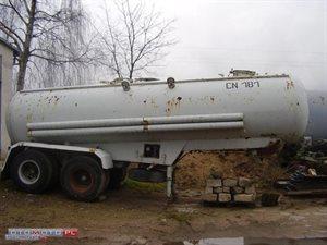 PRZYCZEPA Beczka do cementu 1993 r.