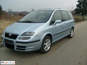 Fiat Ulysse 2.0 2004 r. - zobacz ofertę