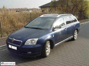 Toyota Avensis 2.0 2003 r.,   18 000 PLN