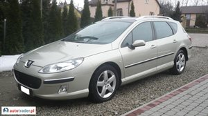 Peugeot 407 2.0 2006 r. - zobacz ofertę
