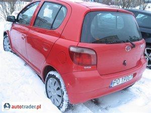 Toyota Yaris 1.0 1999 r. - zobacz ofertę