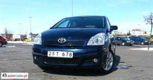 Toyota Corolla Verso 1.8 2007 r.,   33 600 PLN