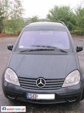 Mercedes Vaneo 1.7 2002 r. - zobacz ofertę