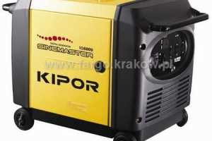 Agregat Kipor IG 6000 6,0kW - zobacz ofertę