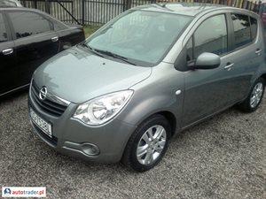 Opel Agila 1.0 2012 r. - zobacz ofertę