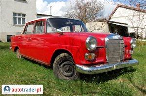 Mercedes W-201 (190) 0.2 1966 r. - zobacz ofertę