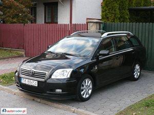 Toyota Avensis 2003 r. - zobacz ofertę
