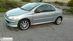 Peugeot 206 CC 1.6 2006 r. - zobacz ofertę