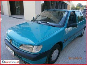 Peugeot 306 1.4 1995 r.,   2 500 PLN