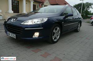 Peugeot 407 2.0 2008 r. - zobacz ofertę