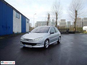 Peugeot 206 1.6 2004 r. - zobacz ofertę