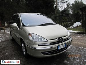 Peugeot 807 2.0 2011 r. - zobacz ofertę