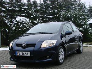 Toyota Auris 2.0 2007 r.,   21 500 PLN