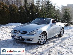 Mercedes SLK 1.8 2004 r. - zobacz ofertę