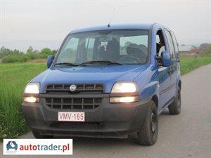 Fiat Doblo 1.9 2002 r. - zobacz ofertę