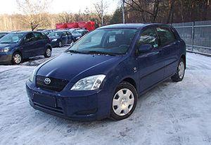 Toyota Corolla 1,6 5-drzwiowy hatchback 1.6 2003 r. - zobacz ofertę