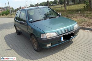 Peugeot 106 1.0 1994 r. - zobacz ofertę