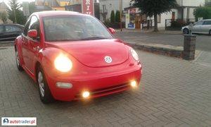 Volkswagen New Beetle 2.0 1998 r. - zobacz ofertę
