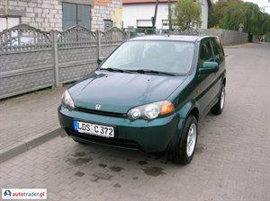Honda HR-V 1.6 1999 r. - zobacz ofertę