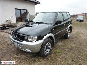 Nissan Terrano 2.4 2000 r. - zobacz ofertę